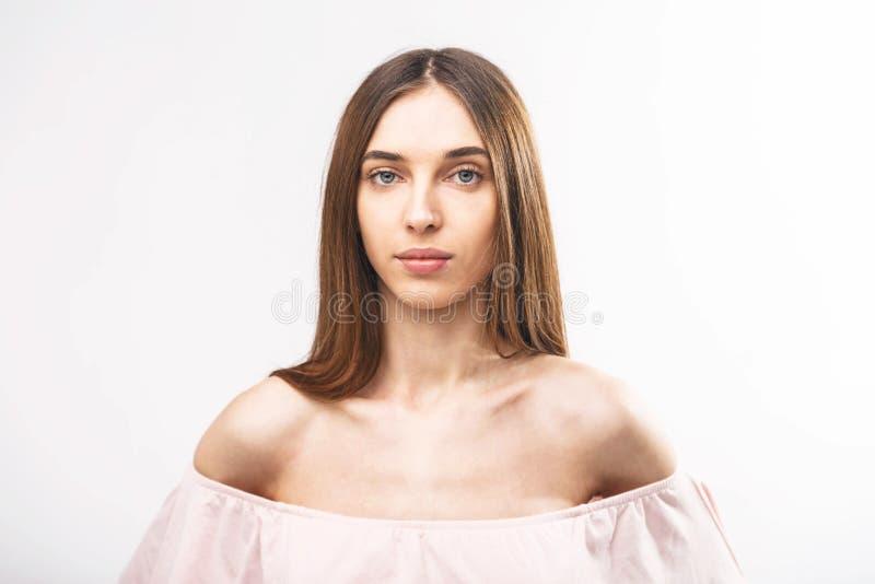 Retrato de la mujer de la belleza fotos de archivo libres de regalías