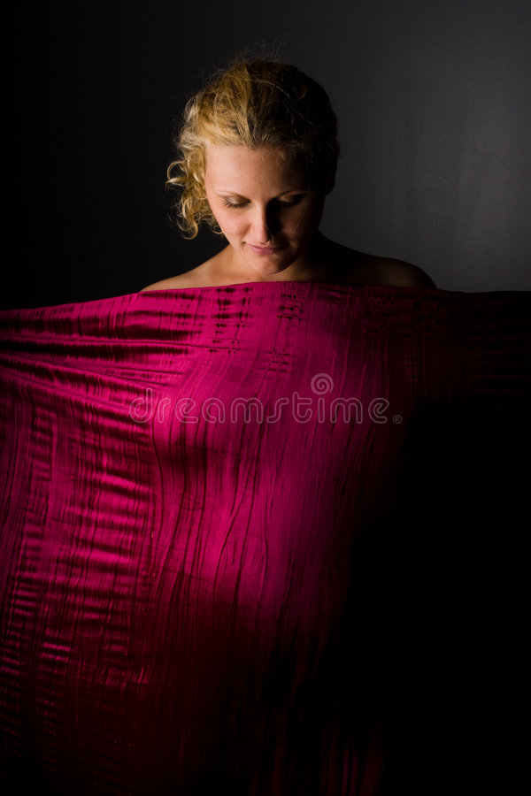 Retrato de la mujer embarazada imagen de archivo