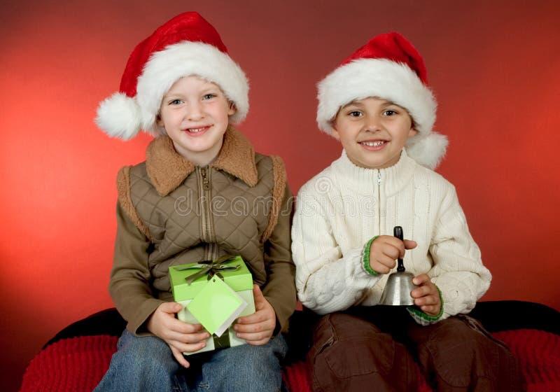 Download Retrato de la Navidad foto de archivo. Imagen de sonrisa - 1276840