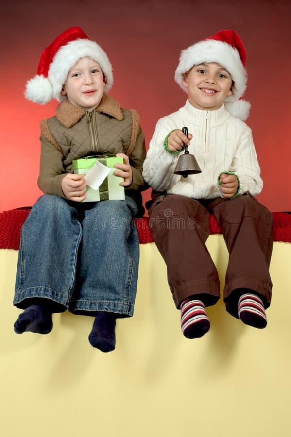 Download Retrato de la Navidad imagen de archivo. Imagen de lindo - 1280829