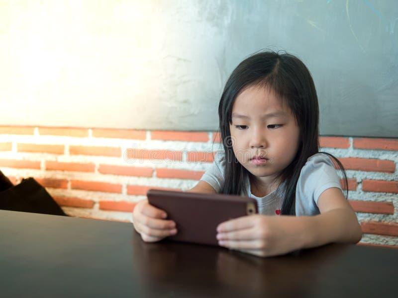 Retrato de la niña bonita de Asia fotografía de archivo libre de regalías