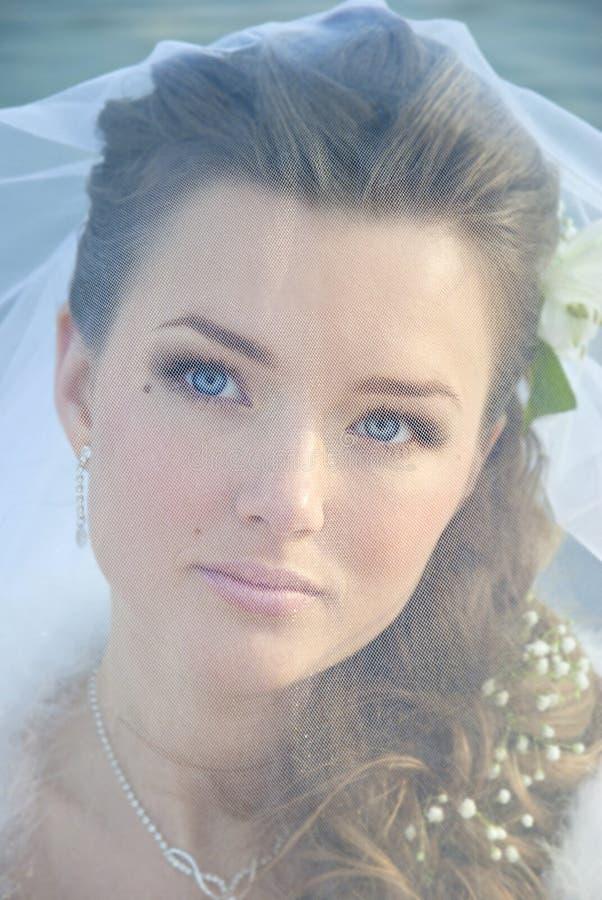 Retrato de la novia joven fotos de archivo libres de regalías