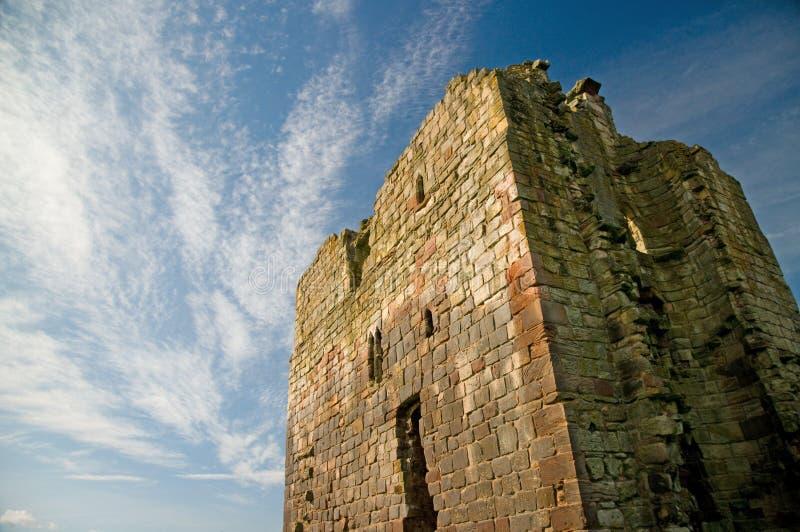 Retrato de la torre vieja fotografía de archivo libre de regalías