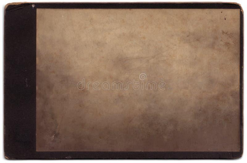 Retrato de la vendimia escondido   fotos de archivo