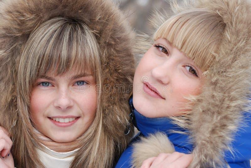 Retrato de las chicas jóvenes imágenes de archivo libres de regalías