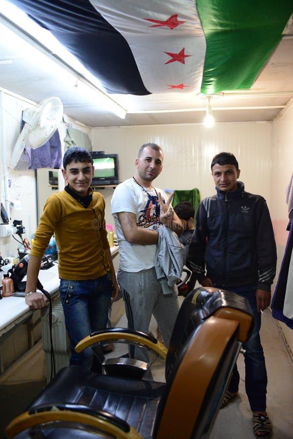 Retrato De Los Refugiados Sirios Que Viven En Turquía Imagen de archivo editorial
