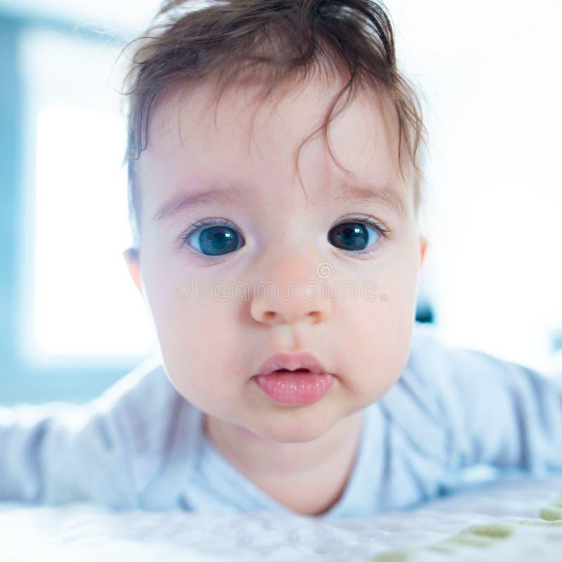 Retrato de mi bebé fotografía de archivo