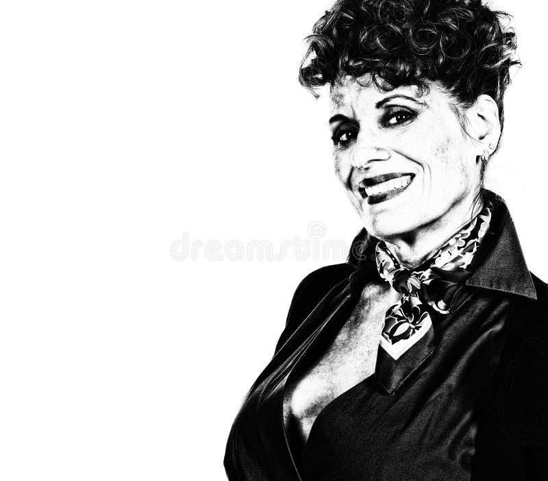 Retrato de mujer hermosa foto de archivo libre de regalías