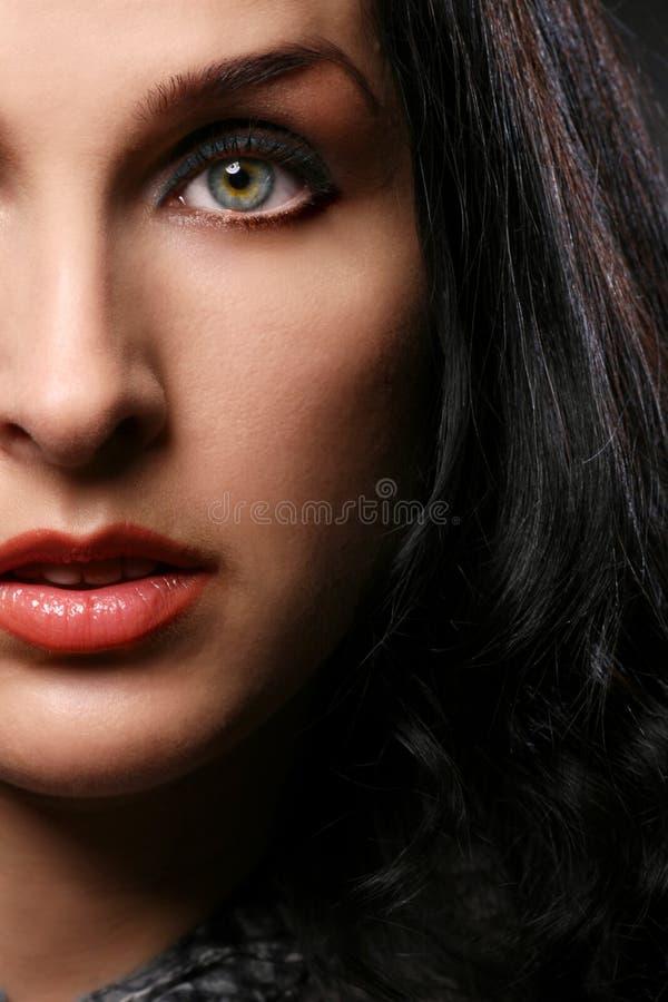 Retrato de mujeres hermosas imagen de archivo libre de regalías
