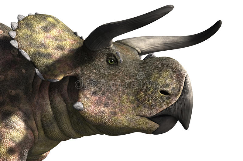 Retrato de Nasutoceratops libre illustration