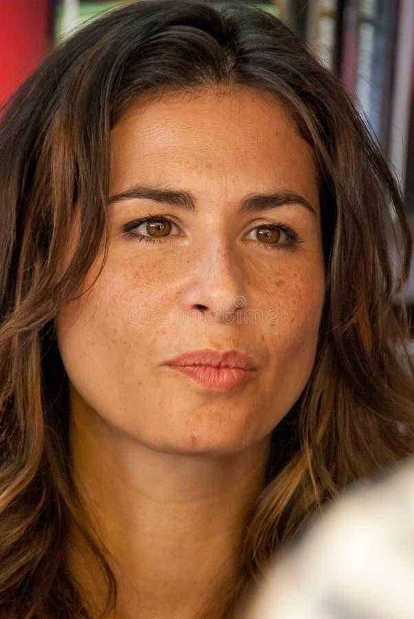 Retrato de Nuria Roca foto de stock royalty free