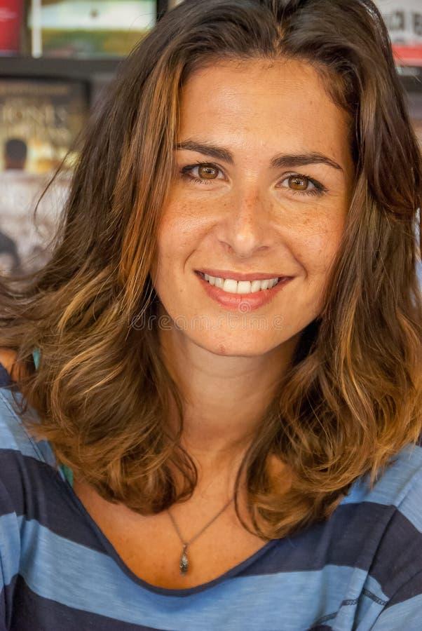 Retrato de Nuria Roca foto de stock