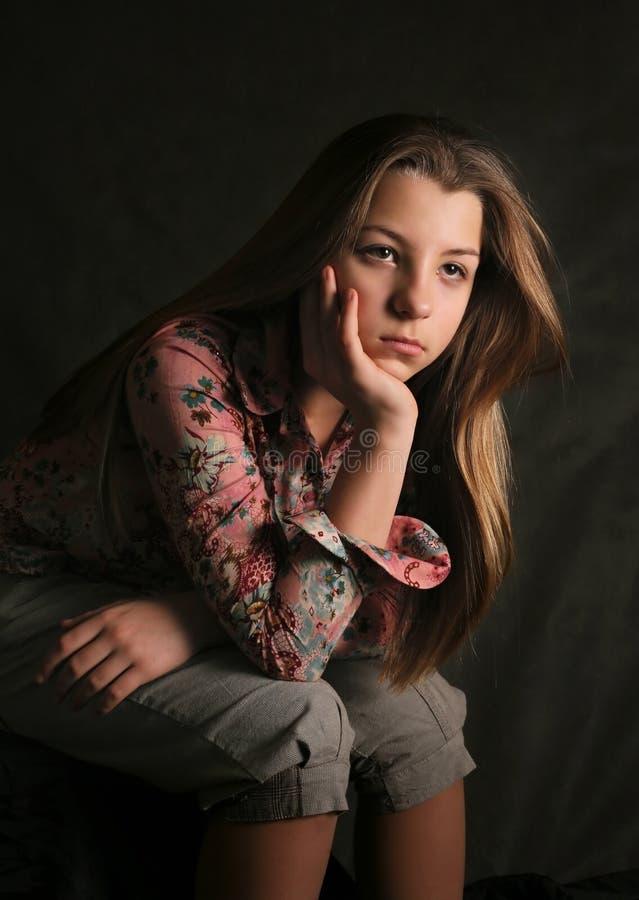 Retrato de Olga imagem de stock royalty free