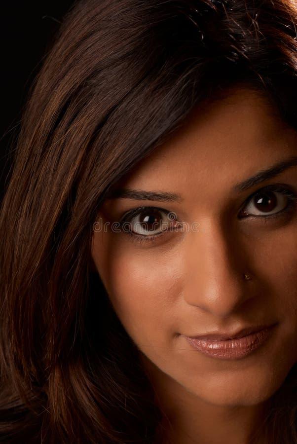 Retrato de Oriente Medio de la mujer imagen de archivo libre de regalías