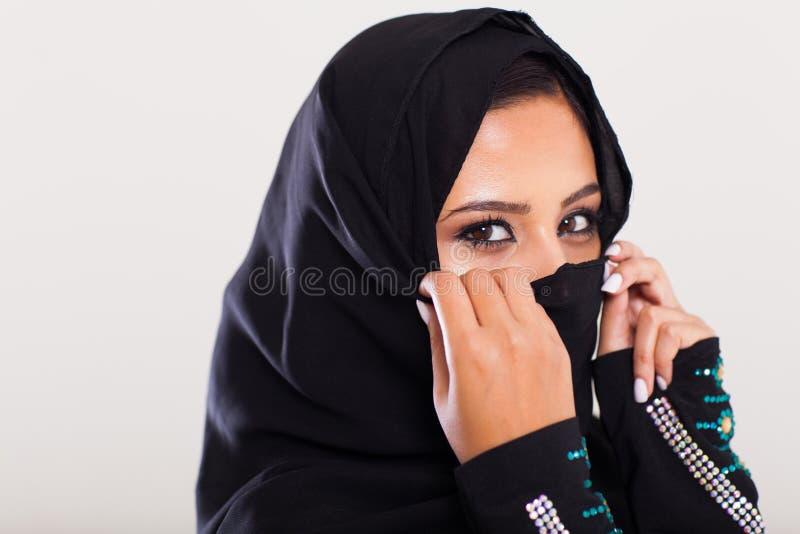 Mujer de Oriente Medio imagen de archivo