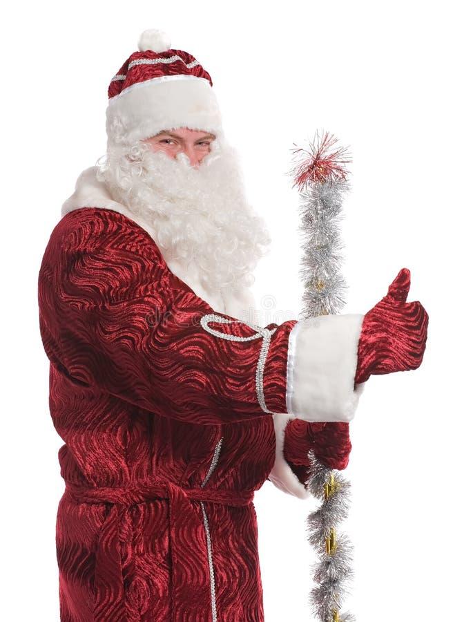 Retrato de Papá Noel foto de archivo