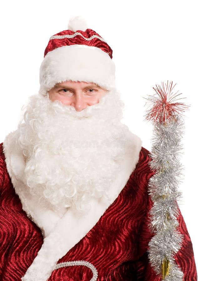 Retrato de Papá Noel imagen de archivo