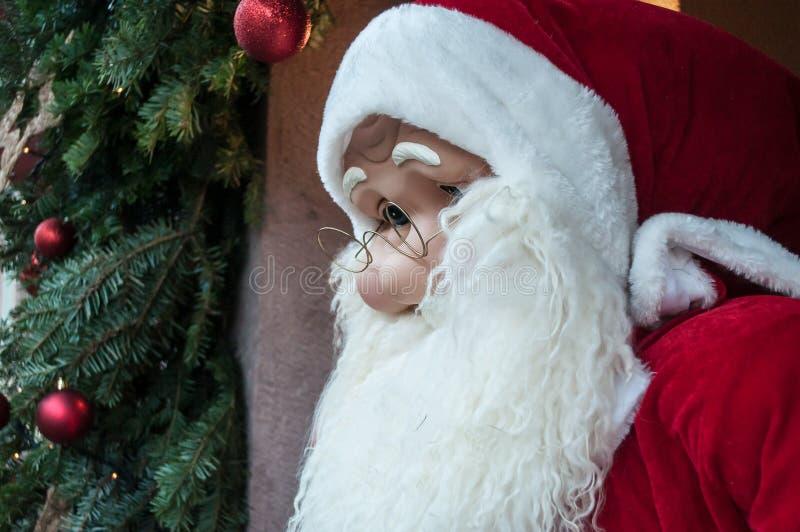 Retrato de Papai Noel foto de stock royalty free