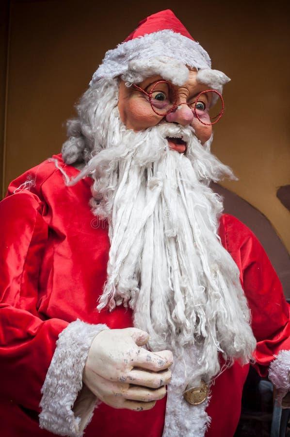 Retrato de Papai Noel imagem de stock