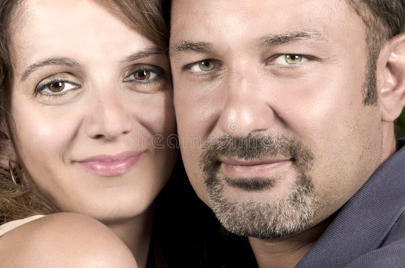 Retrato de pares casados imagenes de archivo