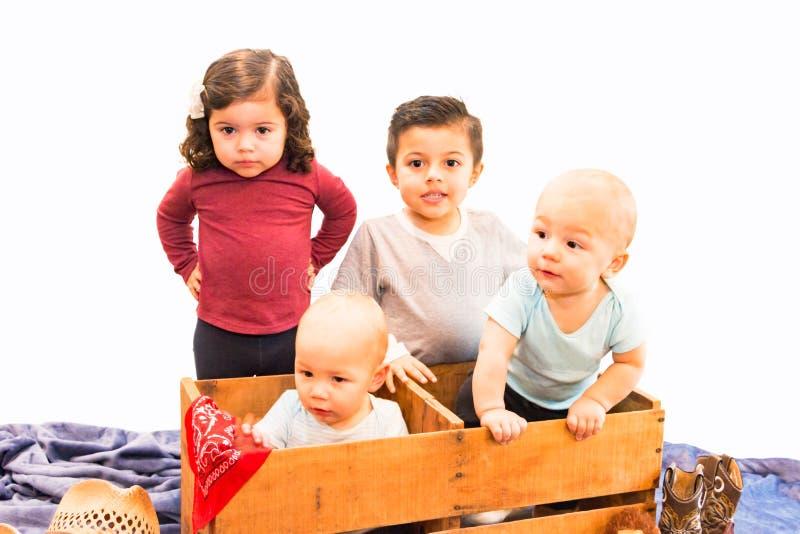 Retrato de primos novos fotos de stock royalty free