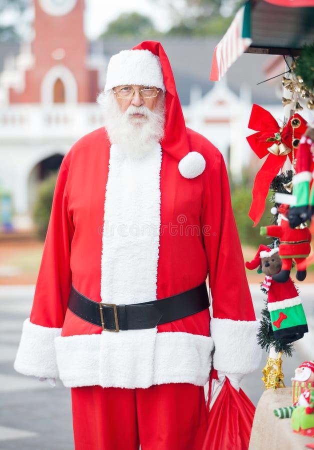 Retrato de Santa Claus fotos de archivo libres de regalías