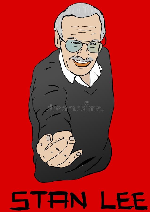 Retrato de Stan Lee