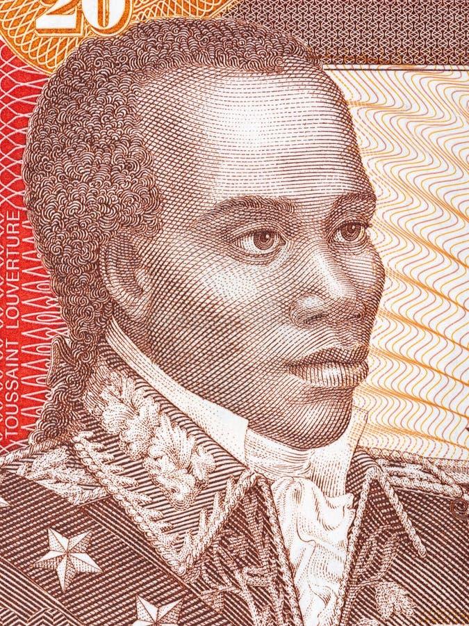 Retrato de Toussaint Louverture fotos de archivo