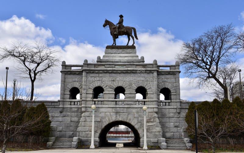 Retrato de Ulysses S Grant Memorial fotos de stock royalty free