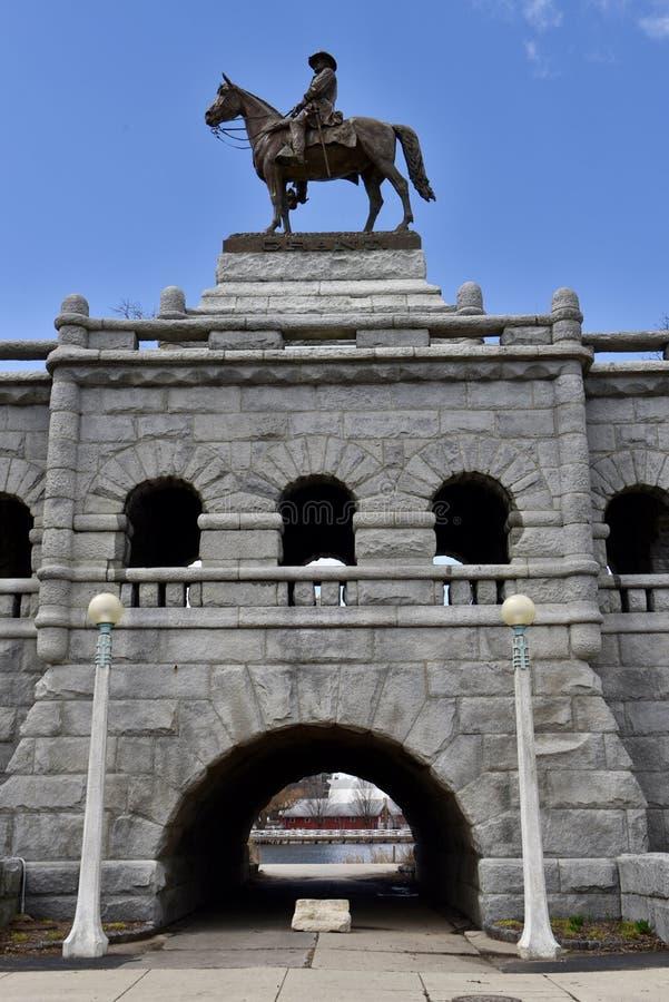 Retrato de Ulysses S Grant Sculpture foto de stock royalty free