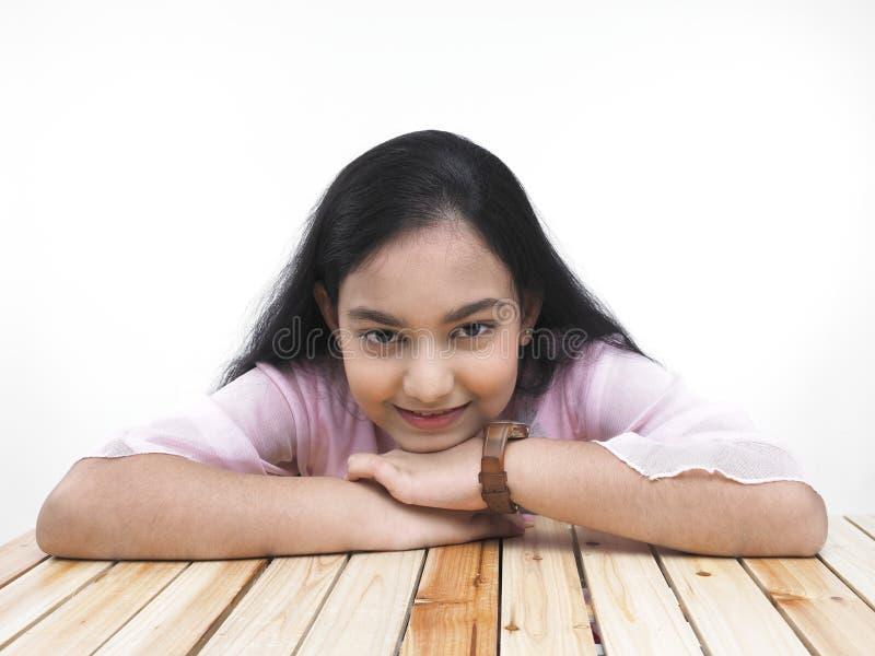 Retrato de um adolescente asiático fotos de stock