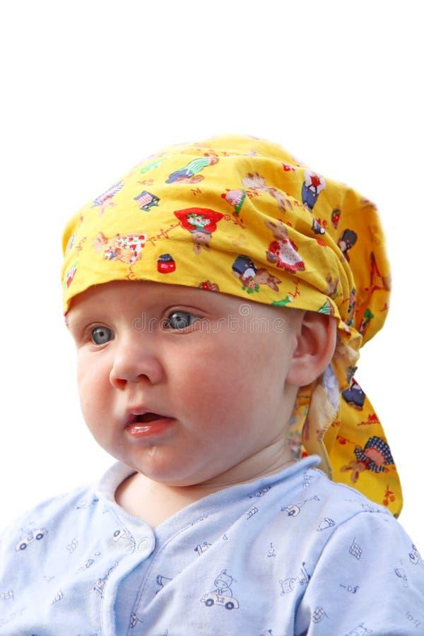 Retrato de um bebê imagens de stock royalty free