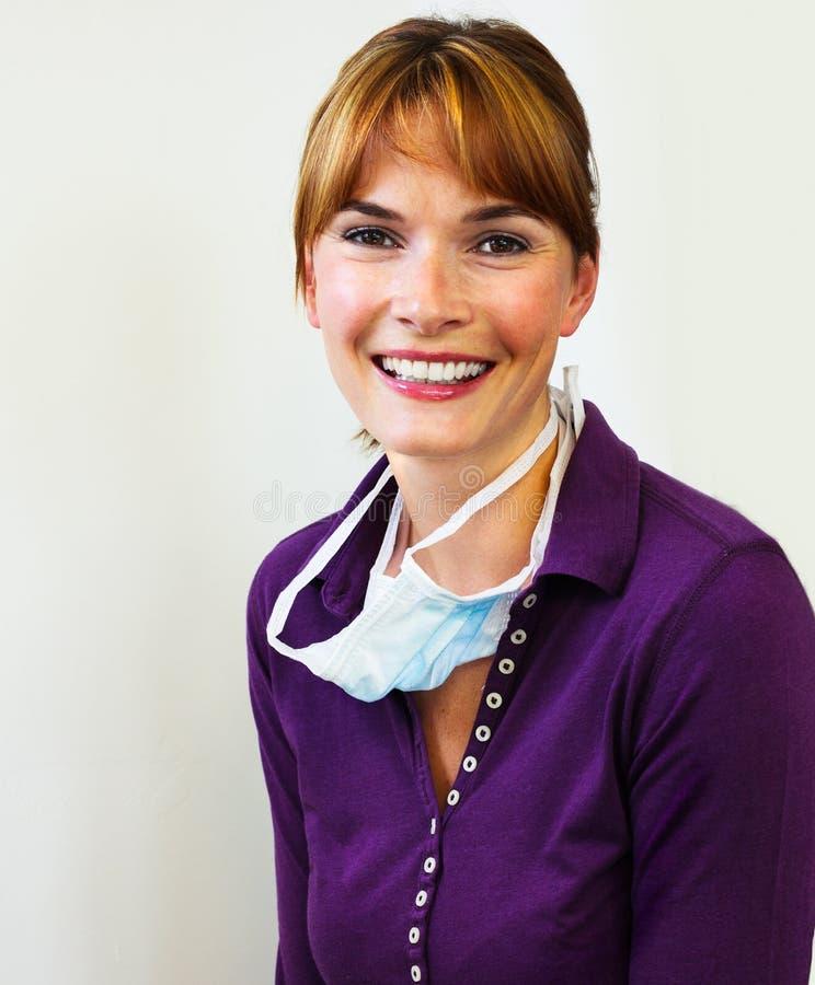 Retrato de um doutor foto de stock