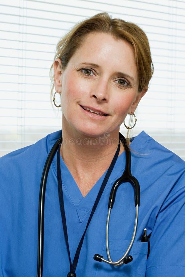 Retrato de um doutor imagem de stock