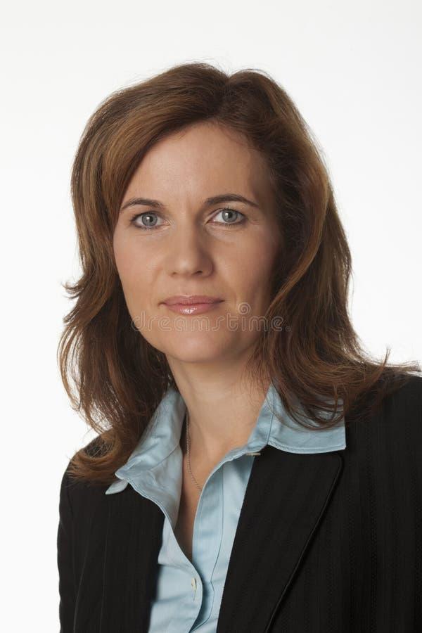 Retrato de um gerente da mulher fotos de stock