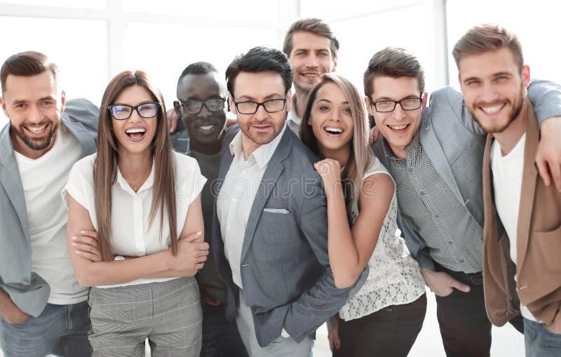 Retrato de um grupo de executivos bem sucedidos imagem de stock