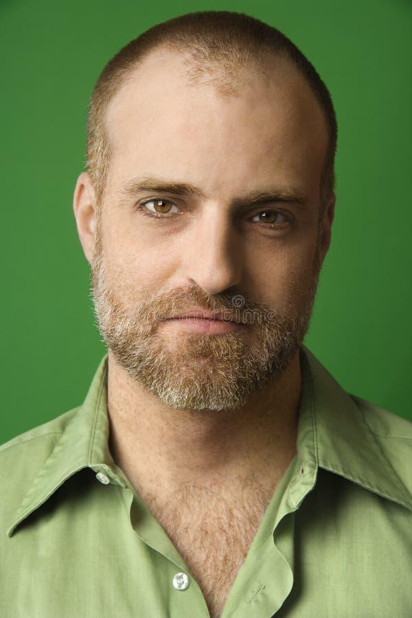 Retrato de um homem. foto de stock royalty free