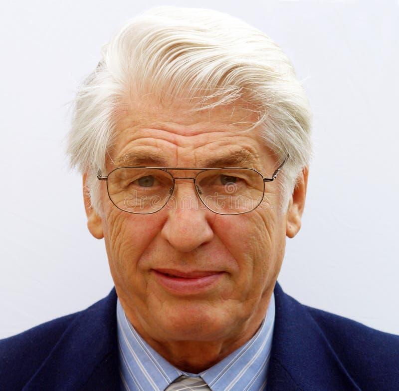 Retrato de um homem de negócios fotos de stock royalty free