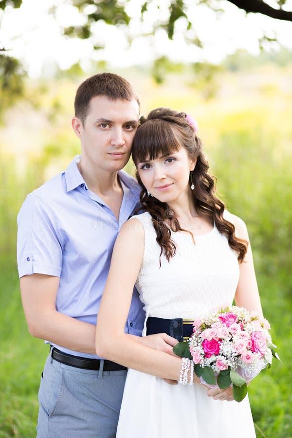 Retrato de um homem e de uma mulher fotografia de stock royalty free
