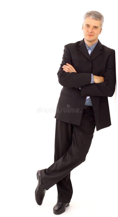 Retrato de um homem novo considerável imagens de stock