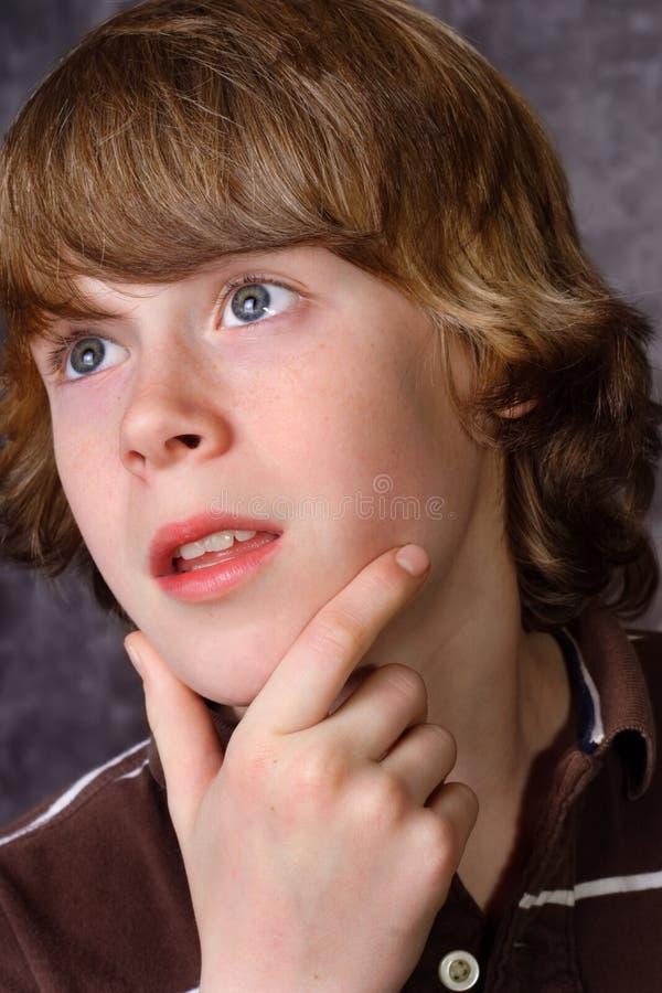 Retrato de um menino imagens de stock royalty free