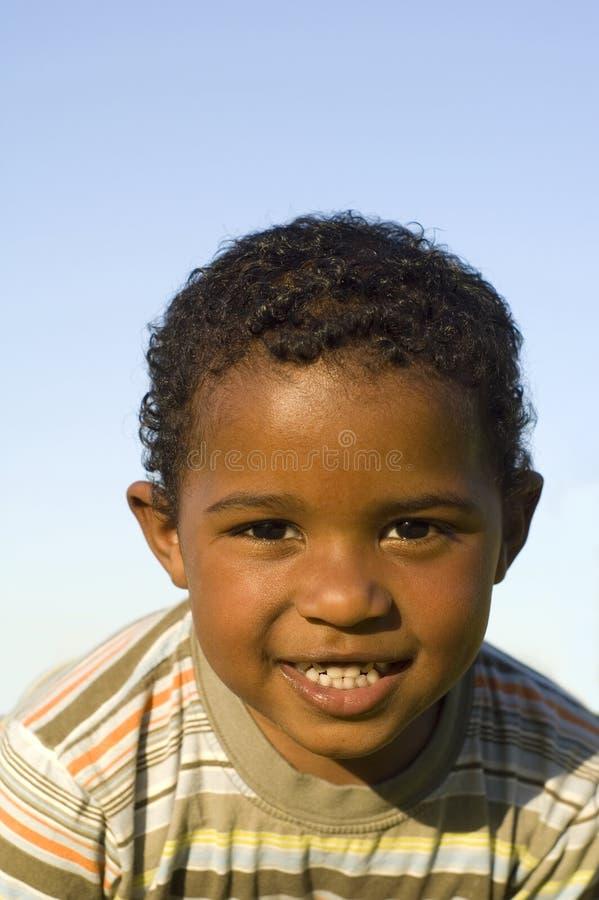 Retrato de um menino muito bonito foto de stock royalty free