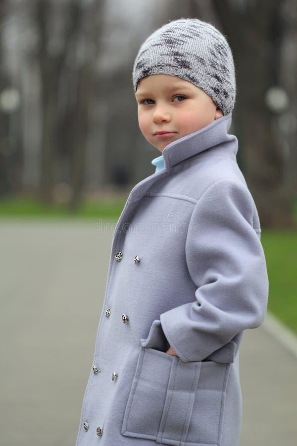 Retrato de um menino romatic imagem de stock