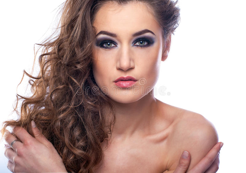 Download Retrato De Uma Mulher Bonita Imagem de Stock - Imagem de cute, senhora: 29836893