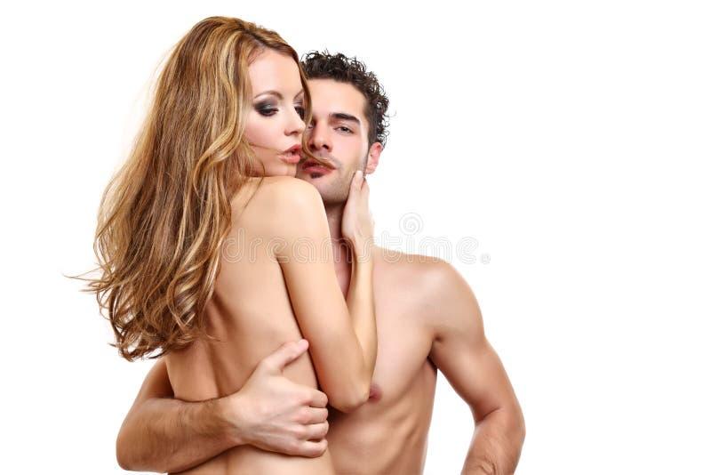 Download Retrato De Um Par Apaixonado Imagem de Stock - Imagem de fundo, bonito: 16858549