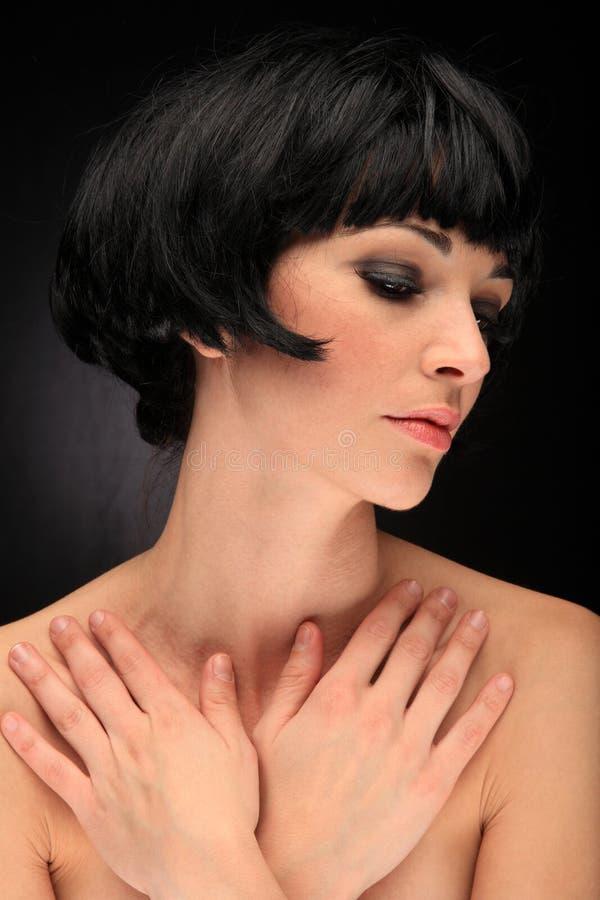 Download Retrato De Uma Menina Bonita Imagem de Stock - Imagem de beleza, cabelo: 29830715
