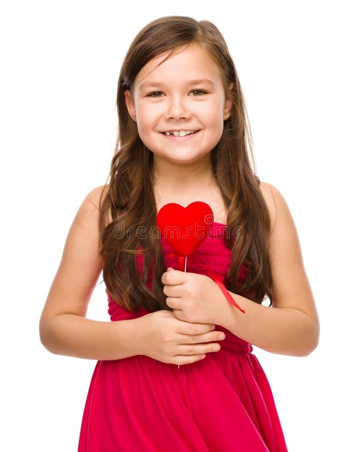 Retrato de uma menina imagens de stock