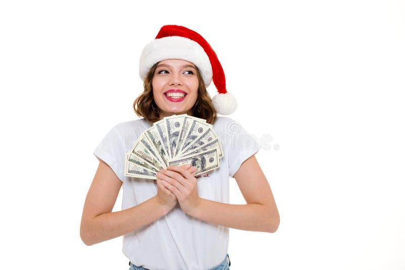 Retrato de uma menina bem sucedida feliz fotos de stock
