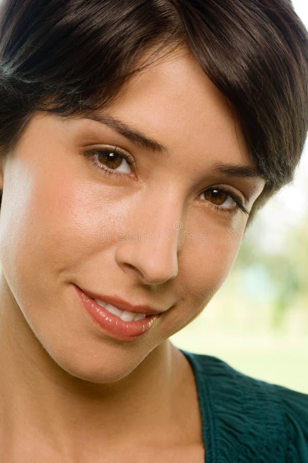 Retrato de uma mulher imagem de stock