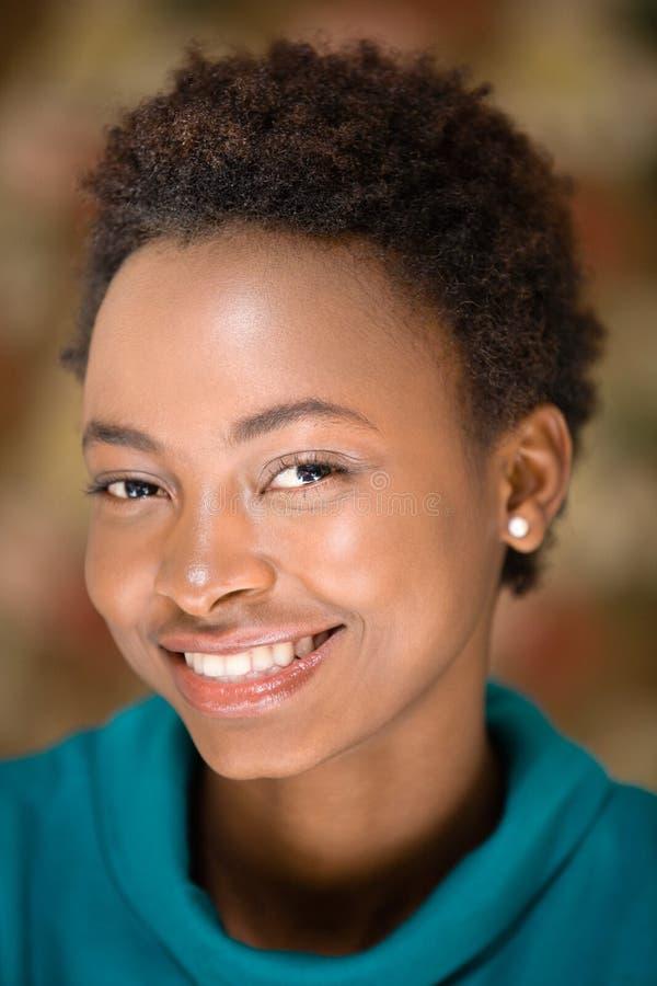 Retrato de uma mulher fotos de stock